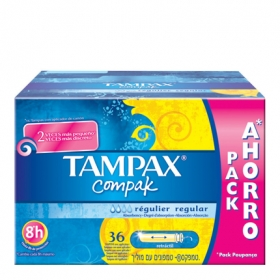 Tampón Compak regular