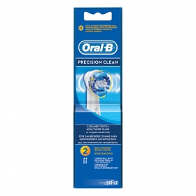 Cepillo dental eléctrico Precisión Cleam recambio Oral-B 2 ud.