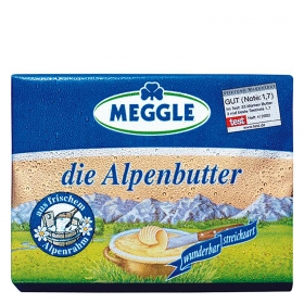Mantequilla alemana alpenbutter