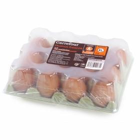 Huevos XL Carrefour 12 ud