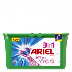 Detergente 3 en 1 en cápsulas Sensaciones