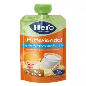 Yogur con bizcocho Hero Nanos 100 g.