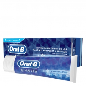 Dentífrico 3D White Blancura radiante Oral-B 75 ml.