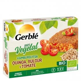 Hamburguesa vegetal ecológica Gerblé Bio 200 g.