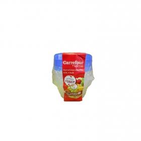 Botes Redondos 0,5 L.  Transparente