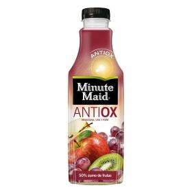 Zumo de manzana, uva y kiwi Minute Maid Atiox botella 1 l.