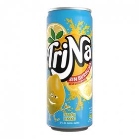 Refresco de limón Trina sin gas lata