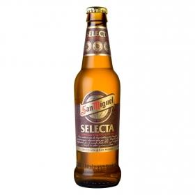 Cerveza San Miguel Selecta botella 33 cl.