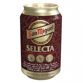 Cerveza San Miguel Selecta lata 33 cl.