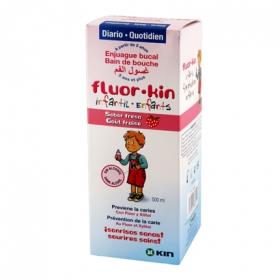 Fluor infantil fresa colutorio