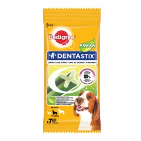 Pedigree Dentastix Fresh. Pack 7 barritas, 180gr