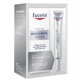 Crema antiedad Hyaluron-Filler + Regalo contorno de ojos