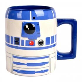 Mug Redondo R2 D2 1pz  Decorado