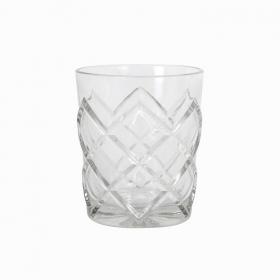 Set Vasos Vidrio HOME STYLE Pinea 36 cl - Transparente