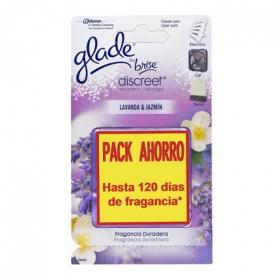 Ambientador eléctrico lavanda recambio Glade by brise 2 ud.