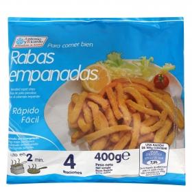 Rabas de calamar empanadas Antonio y Ricardo 400 g.
