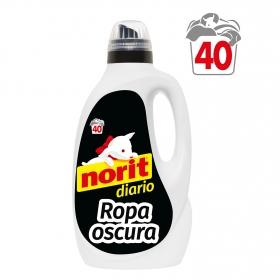 Detergente ropa oscura líquido Diario Norit 40 lavados.