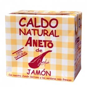 Caldo natural de jamón Aneto 500 ml.