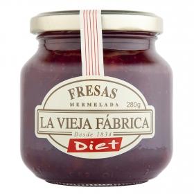 Mermelada de fresa Diet La Vieja Fábrica 280 g.