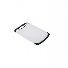 Tabla de corte de Plástico  Blanco y Negro