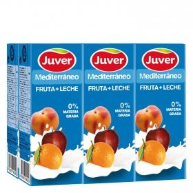 Zumo de fruta + leche Mediterráneo