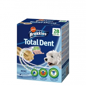 Brekkies Total Dent Mini para Perros 440g.