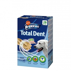 Brekkies Total Dental para Perro Maxi 28 ud.