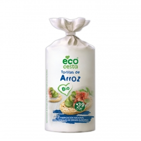 Tortitas de arroz ecológicas Ecocesta 100 g.