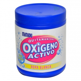 Detergente quitamanchas ropa oxigeno blanco puro