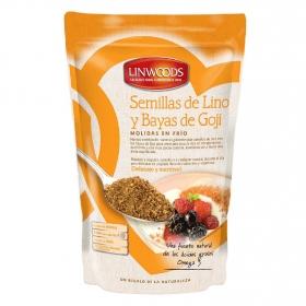 Semillas de lino y bayas de goji molidas Linwoods 200 g.