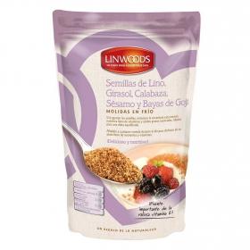 Semillas de lino, girasol,calabaza, sésamo y bayas de goji molidas Linwoods 200 g.