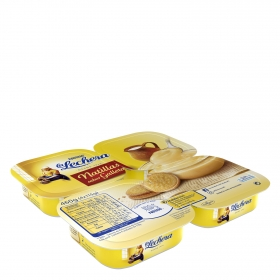 Natillas de galleta Nestlé La Lechera pack de 4 unidades de 115 g.