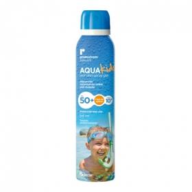 Spray solar Aqua Kids FP 50+ fácil de aplicar