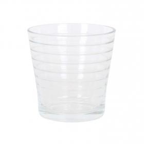Set de 6 Vaso de Vidrio HOME STYLE Lines 29cl - Transparente