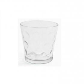 Set de 6 Vaso de Vidrio HOME STYLE Circles 29cl - Transparente