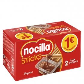 Sticks con crema de cacao y avellana