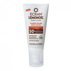 Crema solar cara y escote FP 50 Lemonoil
