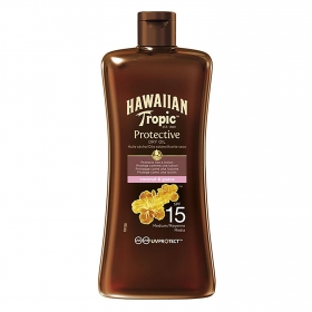 Aceite solar FP 15 Hawaiian Tropic 100 ml.