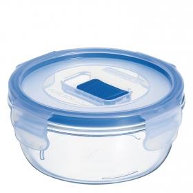 Recipiente Hermetico Redondo de Cristal  Pure Box Active 0,42 L.  Transparente