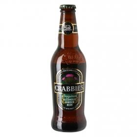 Cerveza Crabbie's con jengibre botella 33 cl.