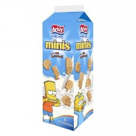 Mini galletas blancas