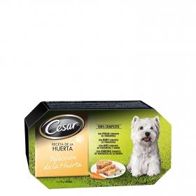 Alimento Húmeda para Perros Cesar Carnes y Verduras Multipack 4X150Gr