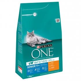 Comida para gatos Seniro 11+ con Pollo