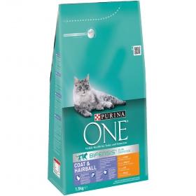 Comida para gatos Pelajes y Bolas de Pelo con Pollo