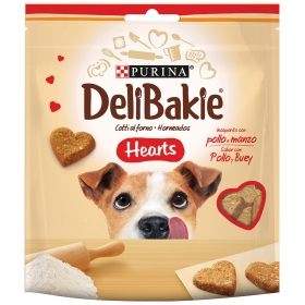 Purina Delibakie Snacks para Perros Hearts 100g