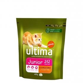 Alimento Seco para Gato Ultima Junior con Pollo y Arroz