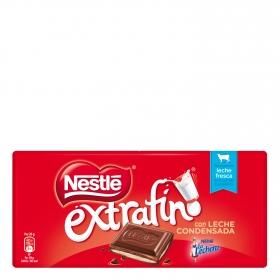 Chocolate con leche con cremoso relleno extrafino