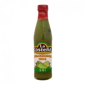 Salsa de habanero verde