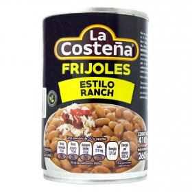 Frijoles ranch La Costeña 210 g.