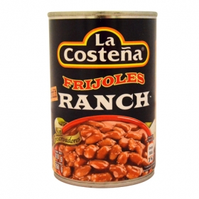 Frijoles ranch La Costeña 210 g.